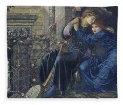 Love Among The Ruins Fleece Blanket