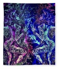 Love And Agony Fleece Blanket