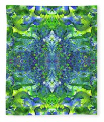 Love And Protect Our Living Gaia #1517 Fleece Blanket