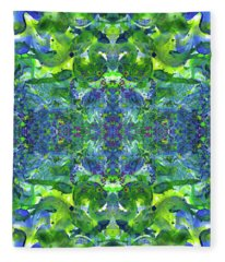 Love And Protect Our Living Gaia #1519 Fleece Blanket
