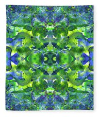 Love And Protect Our Living Gaia #1520 Fleece Blanket