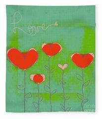 Love Art - 177abc Fleece Blanket