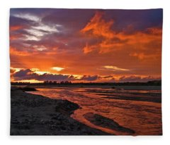 Love At First Light Fleece Blanket