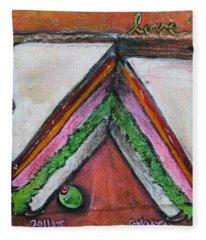 Love For Ham Sandwich Fleece Blanket