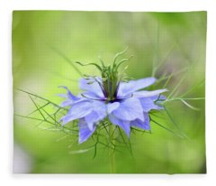 Love-in-a-mist Fleece Blanket