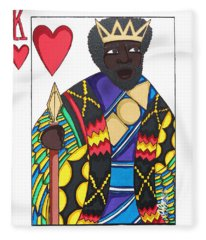 Love King Fleece Blanket