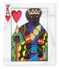 Love King Fleece Blanket