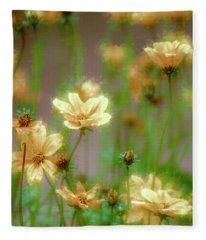Love Of Flowers Fleece Blanket