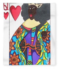 Love Queen Fleece Blanket