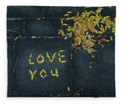 Love You Fleece Blanket