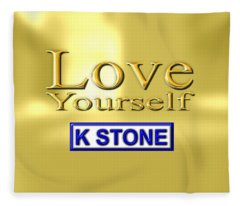 Love Yourself Fleece Blanket