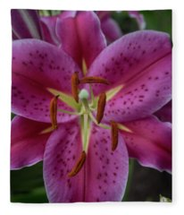 Lovely Lily Fleece Blanket