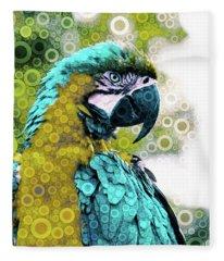 Lovely Plumage Fleece Blanket