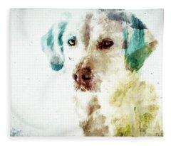 Loving Dog Fleece Blanket