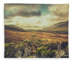 Low Dynamic Range Fleece Blanket