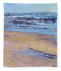 Low Tide / Crystal Cove Fleece Blanket