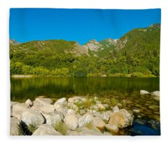 Lower Bells Canyon Reservoir Fleece Blanket