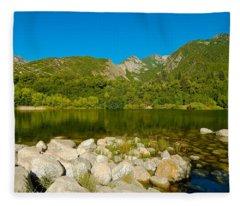 Lower Bells Canyon Reservoir Fleece Blanket