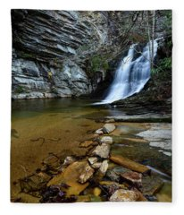 Lower Cascades Fleece Blanket