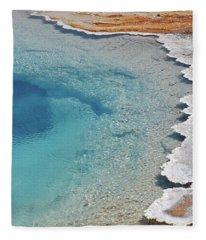 Lower Geyser Basin 14 Fleece Blanket