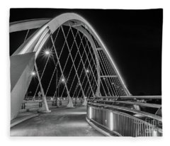 Lowry Avenue Bridge Fleece Blanket