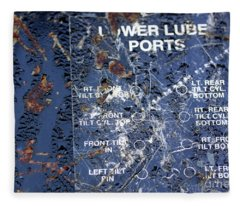 Lube Port Fleece Blanket