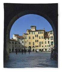 Lucca Piazza Fleece Blanket