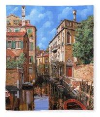 Luci A Venezia Fleece Blanket