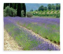 Lucid Lavender Fleece Blanket
