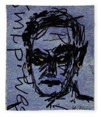 Lucifer's  Thoughts Fleece Blanket