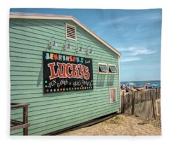 Luckys At Jenkinsons South Fleece Blanket