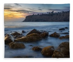 Lunada Bay Fleece Blanket