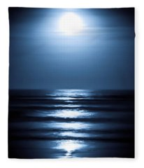 Lunar Dreams Fleece Blanket