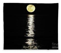 Lunar Lane Fleece Blanket