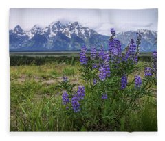 Lupine Beauty Fleece Blanket