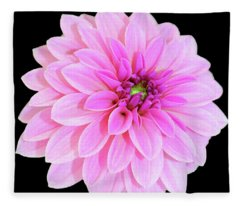 Luscious Layers Of Pink Beauty Fleece Blanket