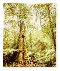 Lush Tasmanian Forestry Fleece Blanket