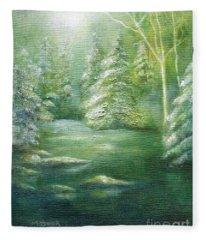 Luster Of Midday Fleece Blanket