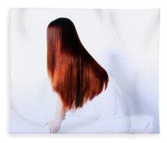 Luxurious Hair Fleece Blanket