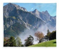 Luzisteig Fleece Blanket