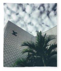 Lv Miami Fleece Blanket