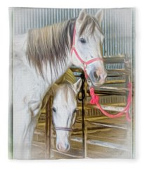 Lvha_ Digital Art Painting #1 Fleece Blanket