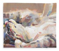 Lying In Wait Fleece Blanket