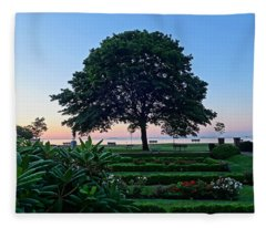 Lynch Park At Dawn Beverly Ma Fleece Blanket