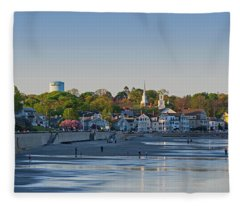 Lynn Waterfront Swampscott Water Tower Lynn Ma Fleece Blanket
