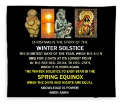 Ma Ra Solstice Fleece Blanket
