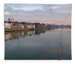 Maas River Fleece Blanket