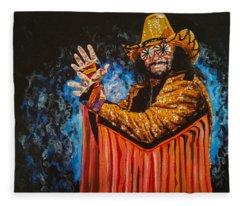 Macho Man Randy Savage Fleece Blanket