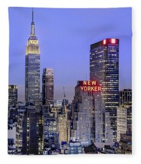 Made In New York Fleece Blanket