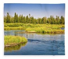 Madison River Fleece Blanket